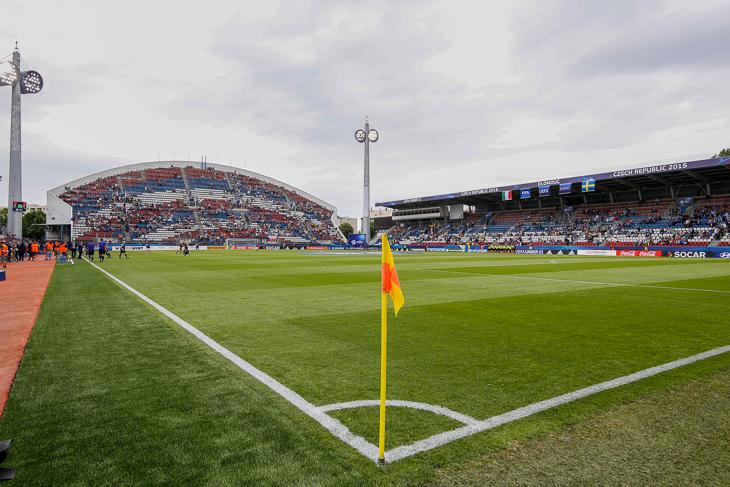 Im Andruv-Stadion von Olmütz trägt die BFV-Auswahl zwei ihrer drei Partien aus. (Foto: Getty Images)