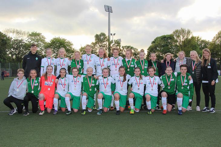 Der SV Werder Bremen konnte erneut den Titel verteidigen. (Foto: Dietmar Haß)