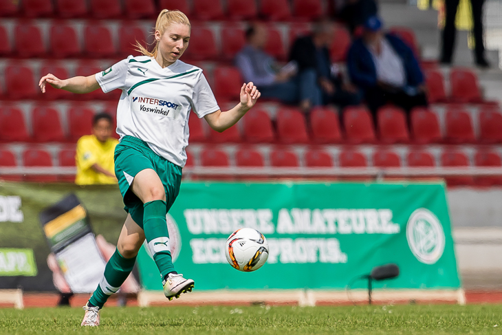 Julia Claassen möchte mit dem TV Eiche Horn erneut ins Pokalfinale. (Foto: dgphoto.de)