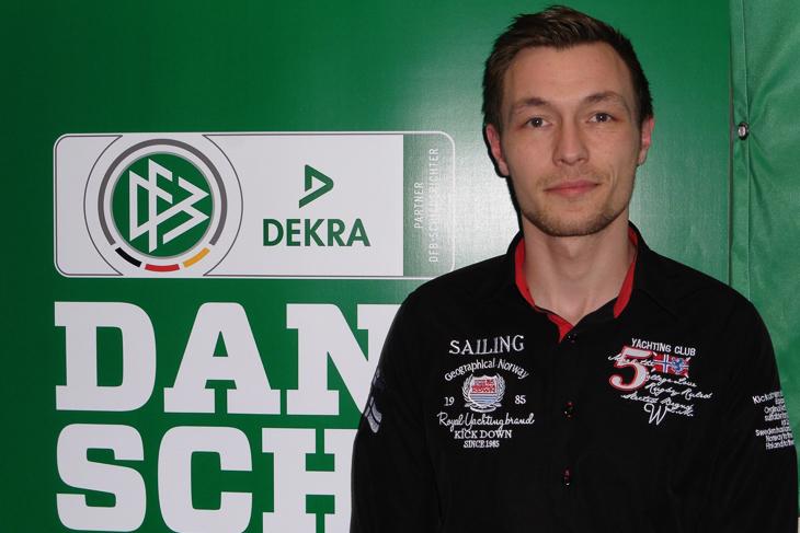 Bei den U 50-Schiedsrichtern ist Sebastian Berger der Preisträger. (Fotos: Marcel Menslage)