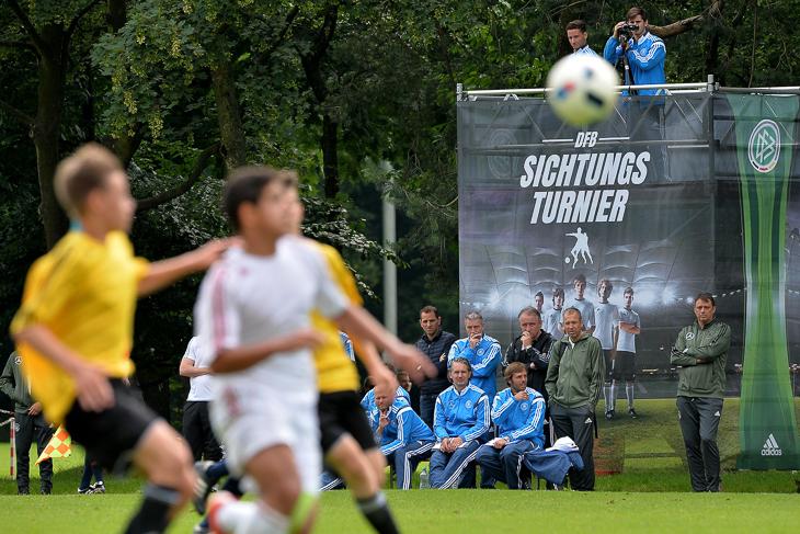 Gleich drei BFV-Spieler konnten sich in den Fokus der DFB-Sichter spielen. (Foto: Getty Images)