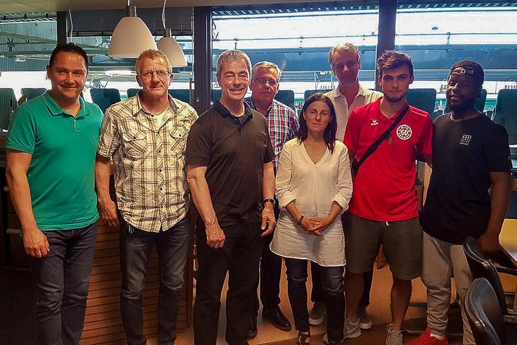 In einem gemeinsamen Dialog arbeiteten beide Vereine gemeinsam mit dem Verband die Vorkommnisse aus dem März auf. (Foto: Horst Diestelkamp)