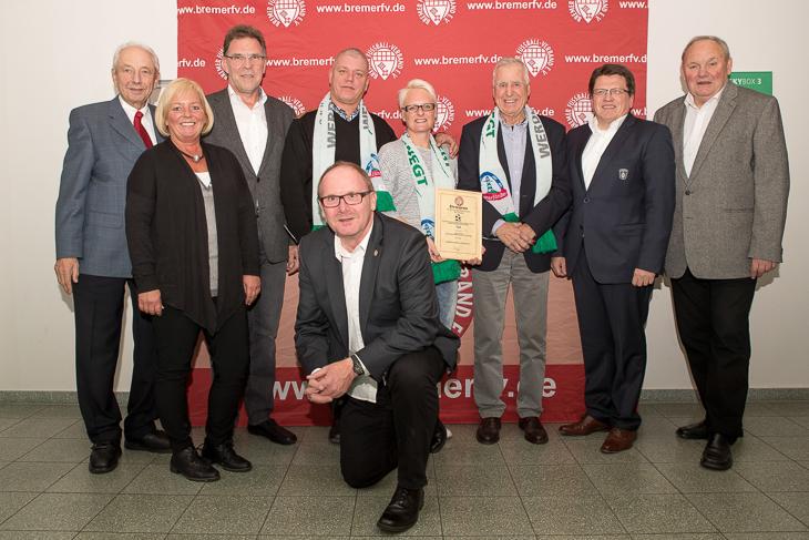Familie Sass aus Bremerhaven ist beim TSV Wulsdorf ehrenamtlich tätig.