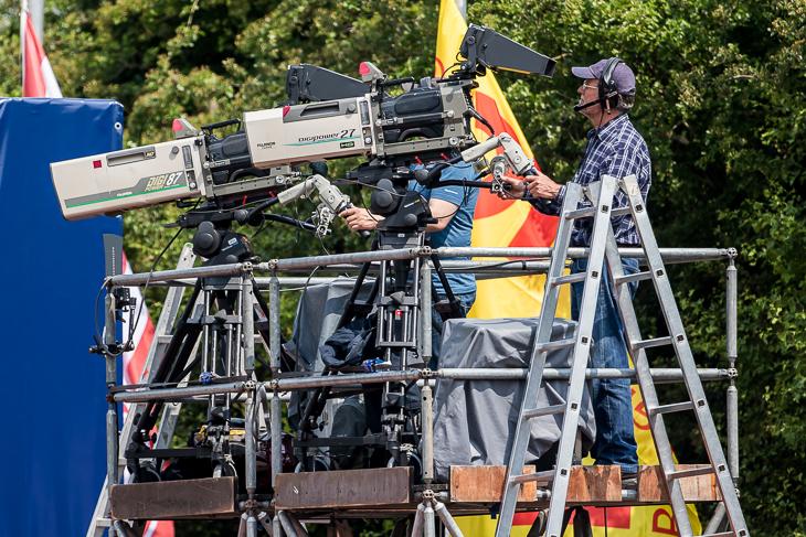 Auch beim LOTTO-Pokalfinale 2019 werden die Kameras der ARD auf die Akteure gerichtet sein. (Foto: dgphoto.de)