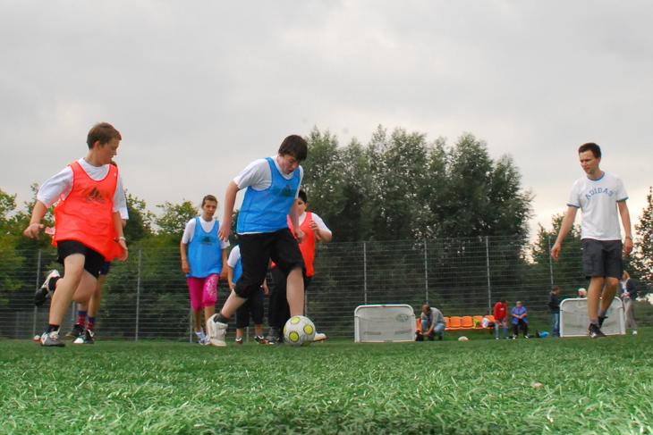 Der DFB hat eine bundesweite Übersicht der Fußballangebote für Menschen mit Behinderung geschaffen.