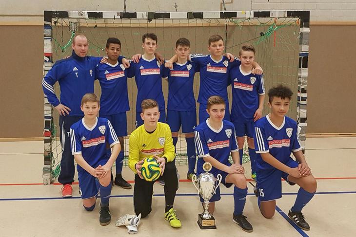 Bei den C-Junioren ging der Titel an den JFV Bremerhaven. (Foto: privat)