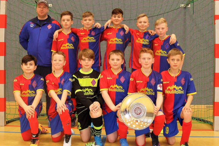 Die E-Junioren des Blumenthaler SV sind Futsal-Meister des Kreises Bremen-Nord. (Foto: Karsten Wolf)