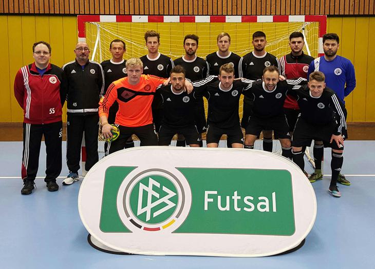 Die Futsal-Landesauswahl des BFV. (Foto: privat)