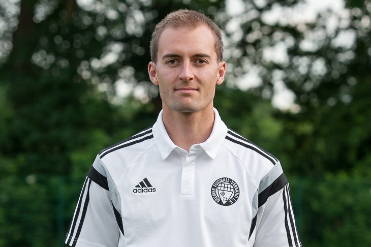 Timo Hippel ist der Schiedsrichter des LOTTO-Pokal Endspiels der Männer. (Foto: Oliver Baumgart)