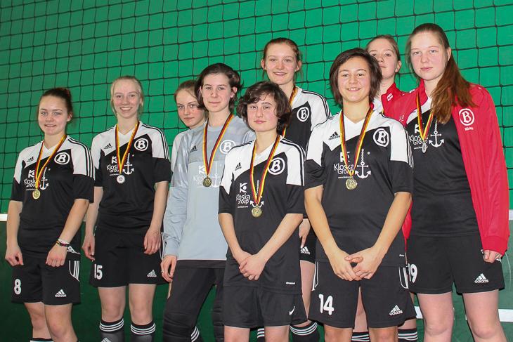 Der ATS Buntentor stellte eines von zwei rein weiblichen Teams.