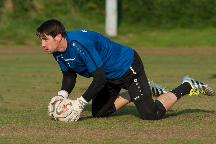 Torhüter Christian Ahlers-Ceglarek gehört zu den erfahrensten Spielern im BFV-Kader.