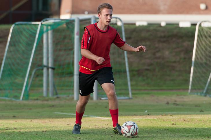 Timo Dressler ist mit 19 Jahren der jüngste Spieler auf Aufgebot.
