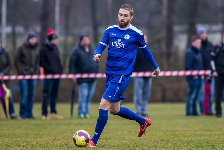 Maciej Kwiatkowski ist der Top-Torjäger des Bremer SV. (Foto: dgphoto.de)