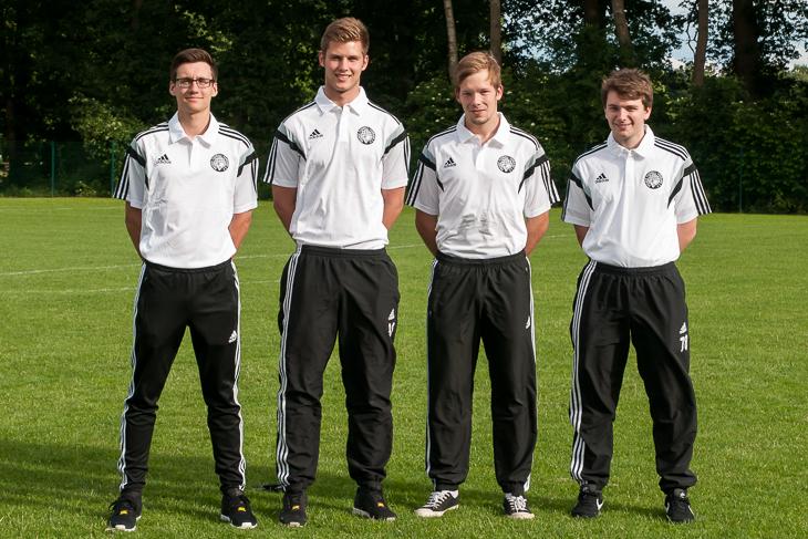 Kevin Anstatt, Cedric Philipp, Tobias Roselius und Peter Dorman sind die neuen Schiedsrichter in der Bremen- und Landesliga.