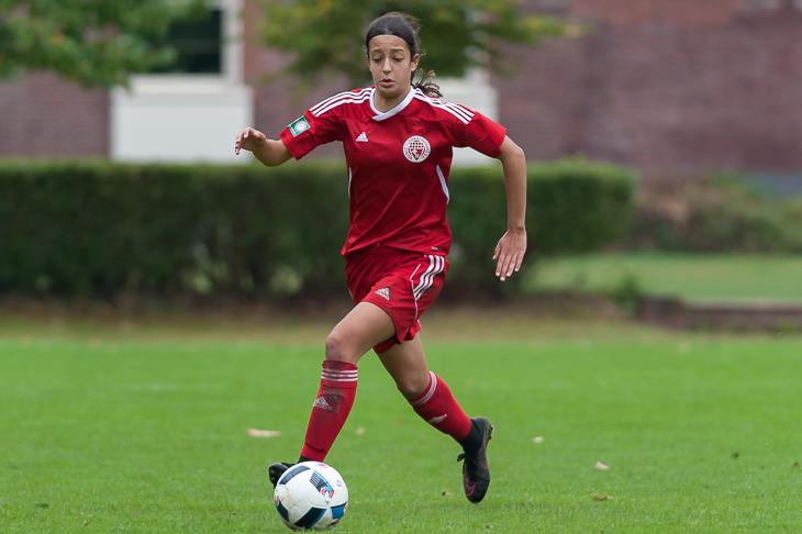 Selma Licina hatte gegen die U 16-Nationalmannschaft mehrfach den Sieg auf dem Fuß. (Foto: Oliver Baumgart)