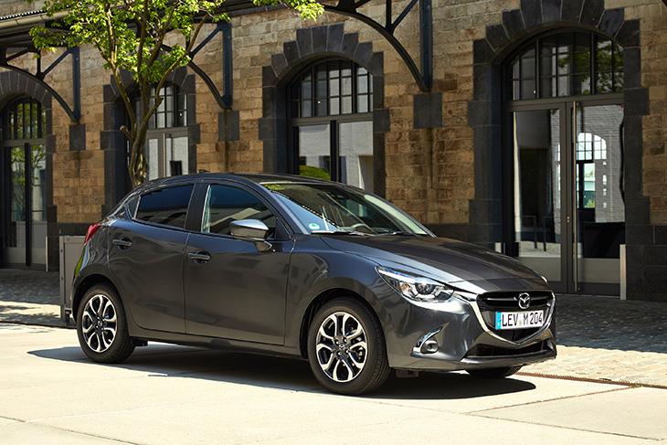 Der Hauptpreis: Ein Mazda 2 KIZOKU im Wert von 17.880,- Euro. (Foto: Mazda)