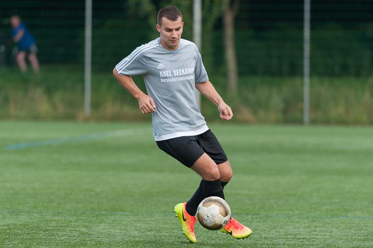 Alexander Satler zog mit dem TSV Lesum-Burgdamm in die nächste Runde ein.