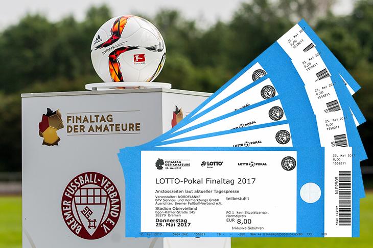 Jetzt Tickets für die LOTTO-Pokal Endspiele gewinnen.