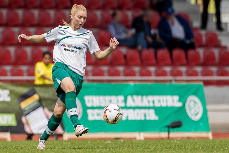 Julia Claassen steht mit dem TV Eiche Horn im Viertelfinale. (Foto: dgphoto.de)