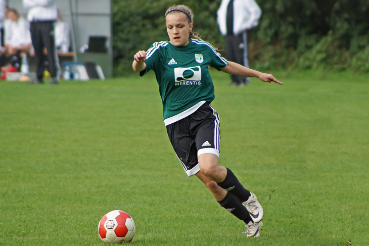 Catharina Stelljes will mit dem SC den Pokal nach Weyhe holen. (Foto: SCW - JS/SH)
