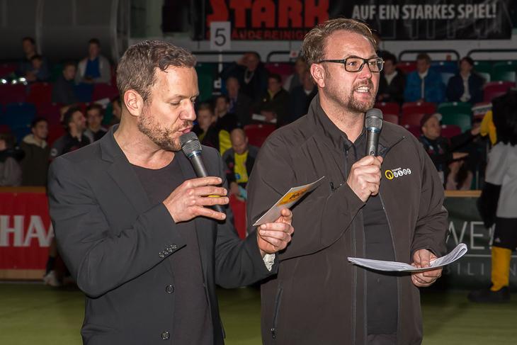 Roland Kanwicher und Olaf Rathje (v.l.) führten durch das Programm. (Foto: dgphoto.de)