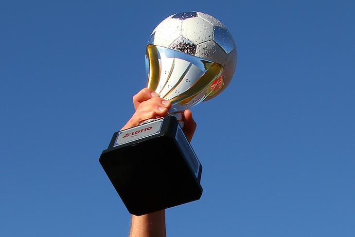 Das Objekt der Begierde: Der LOTTO-Pokal. (Foto: dgphoto.de)