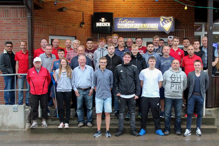Der Schiedsrichterausschuss zeigte sich erfreut über die große Zahl der Teilnehmer. (Fotos: Ralf Krönke)