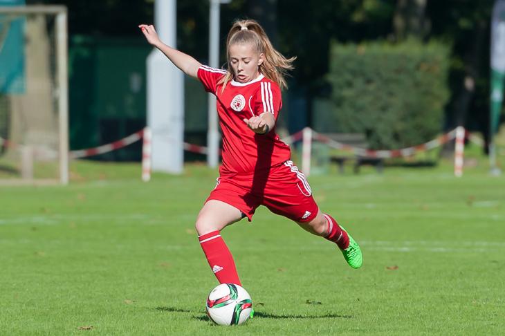 Nina Lührßen kann bereits auf Einsätze im DFB-Trikot zurückblicken. (Foto: Oliver Baumgart)