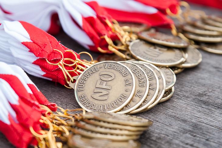Die U 15-Junioren sicherten sich mit zwei Siegen die Silbermedaille. (Foto: Oliver Baumgart)