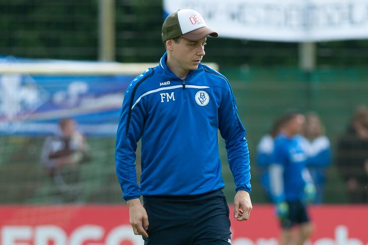BSV-Coach Fabrizio Muzzicato will zurerst den Pokal und dann den Aufstieg. (Fotos: Oliver Baumgart)