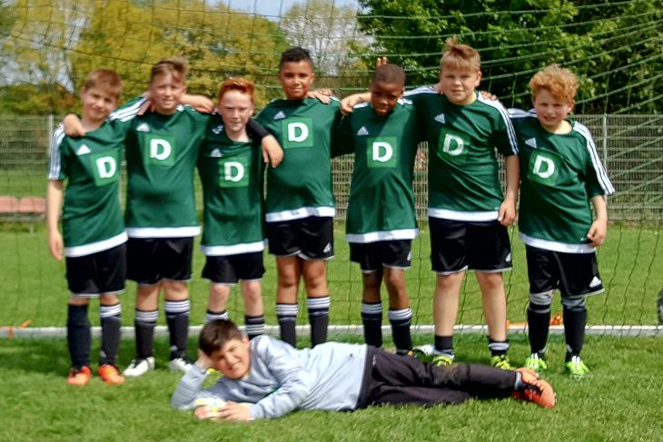 Die Mannschaft des 1. FC Burg hat sich für die Endrunde qualifiziert. (Foto: Karsten Wolf)