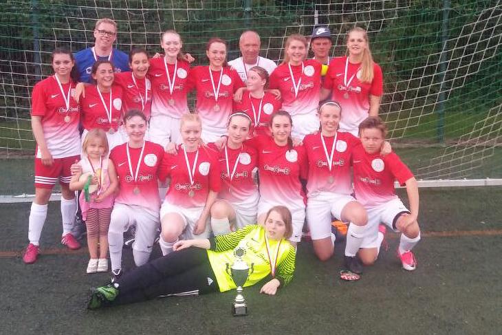 Pokalsieger bei den B-Juniorinnen: Der OSC Bremerhaven. (Foto: Susanne Holst)