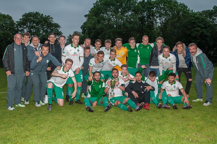 Der SV Werder Bremen ist erneut Landespokalsieger der A-Junioren. (Fotos: Oliver Baumgart)