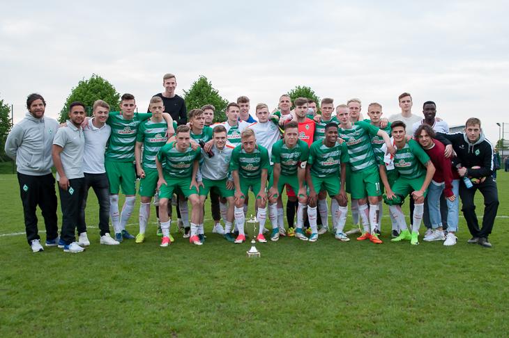 Der SV Werder Bremen ist erneut Sieger des Landespokal der A-Junioren. (Foto: Oliver Baumgart)