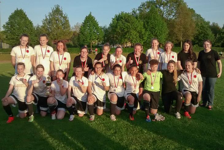 Der TuS Schwachhausen ist Sieger des Landespokals der B-Juniorinnen. (Foto: Uschi Bräuer)