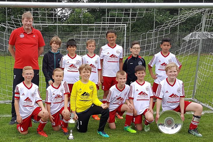 Die E2-Junioren des TSV Lesum-Burgdamm.