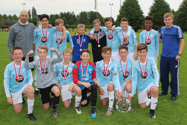 Die Leher TS ist Meister der D-Junioren Verbandsliga. (Foto: Ralf Krönke)