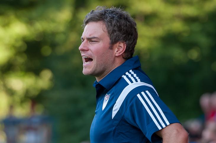 Brinkums Coach Dennis Offermann ist zurück an alter Wirkungsstätte. (Foto: Oliver Baumgart)