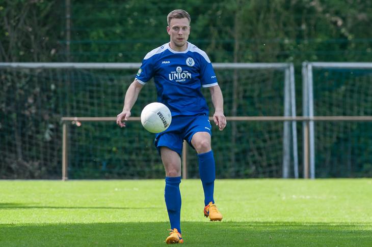 Denis Nukic empfängt mit dem Bremer SV den VfL 07 am Panzenberg. (Foto: Oliver Baumgart)