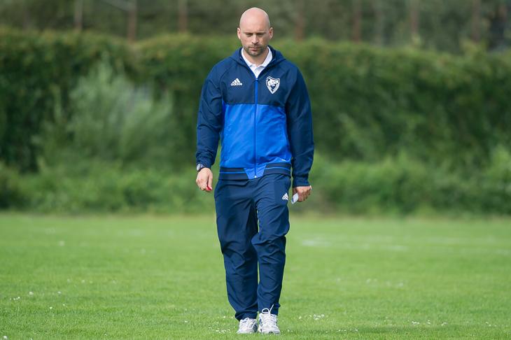Die Leher TS um Coach Dennis Ley ging im Vegesacker Stadion leer aus. (Foto: Oliver Baumgart)