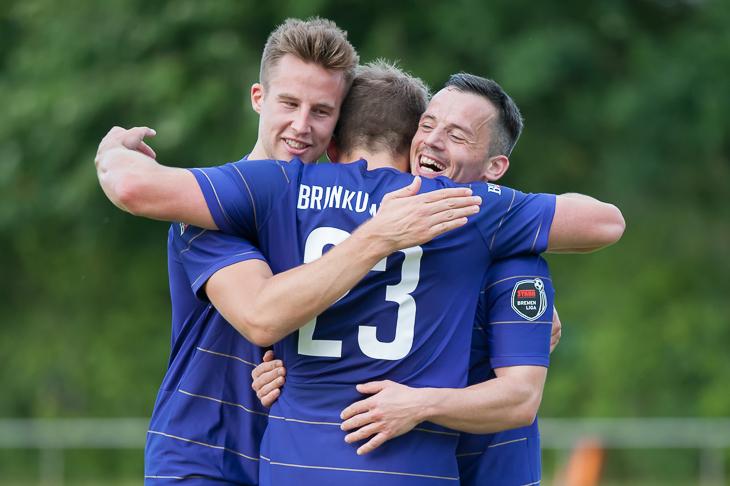 Im dritten Spiel feierte der Brinkumer SV den dritten Sieg und festigte damit die Tabellenführung. (Foto: Oliver Baumgart)
