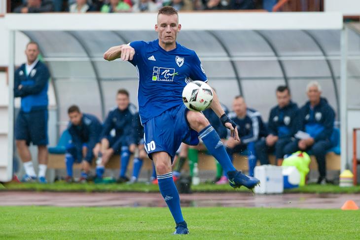 Jan-Niklas Kersten schoss die Leher TS zu einem Punkt gegen den BSC Hastedt. (Foto: Oliver Baumgart)
