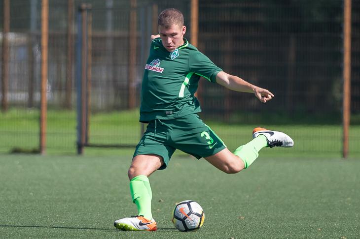 Für Eugen Uschpol und Werders U 21 steht das Derby gegen Aufsteiger BSC Hastedt auf dem Programm. (Foto: Oliver Baumgart)