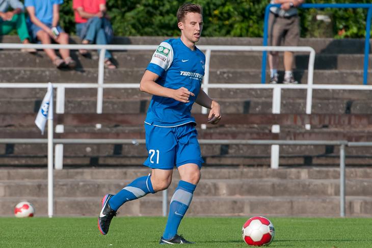 Jannik Bender eröffnet mit dem Brinkumer SV am Freitag die Saison. (Foto: Oliver Baumgart)