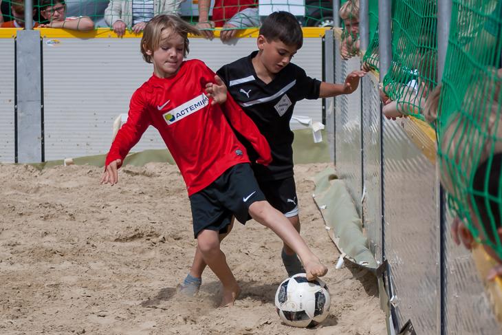 Spannende Spiele und faire Zweikämpfe prägten zwei Tage lang das Turnier. (Fotos: Oliver Buamgart)