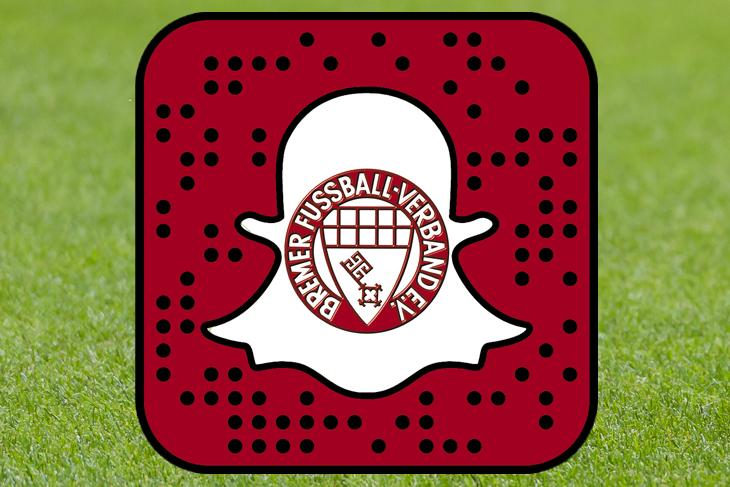 """Mit """"Snapchat"""" erweitert der BFV sein umfangreiches Social-Media-Angebot. (Foto & Montage: Oliver Baumgart)"""