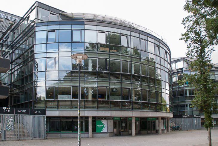 Ein interessanter Arbeitsplatz: Die BFV-Geschäftsstelle im Bremer Weser-Stadion. (Foto: Oliver Baumgart)