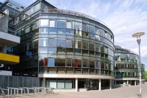 Die Geschäftsstelle des Bremer FV befindet sich im Weser-Stadion. (Foto: Oliver Baumgart)
