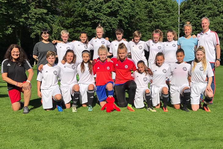 Die U 14-Juniorinnen des BFV. (Foto: privat)