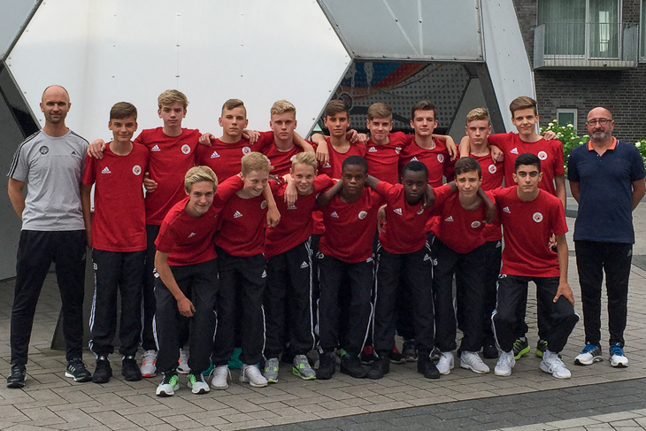 Die U 14-Junioren treten in Kamen-Kaiserau zum DFB-Turnier an. (Foto: privat)